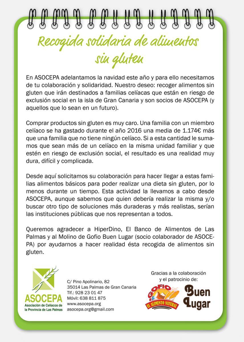 Asocepa asociaci n de cel acos de la provincia de las palmas - Banco de alimentos de las palmas ...